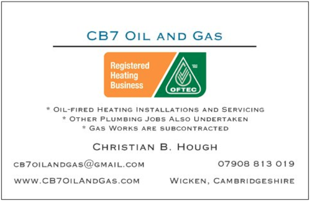 CB7 Oil and Gas Business Card