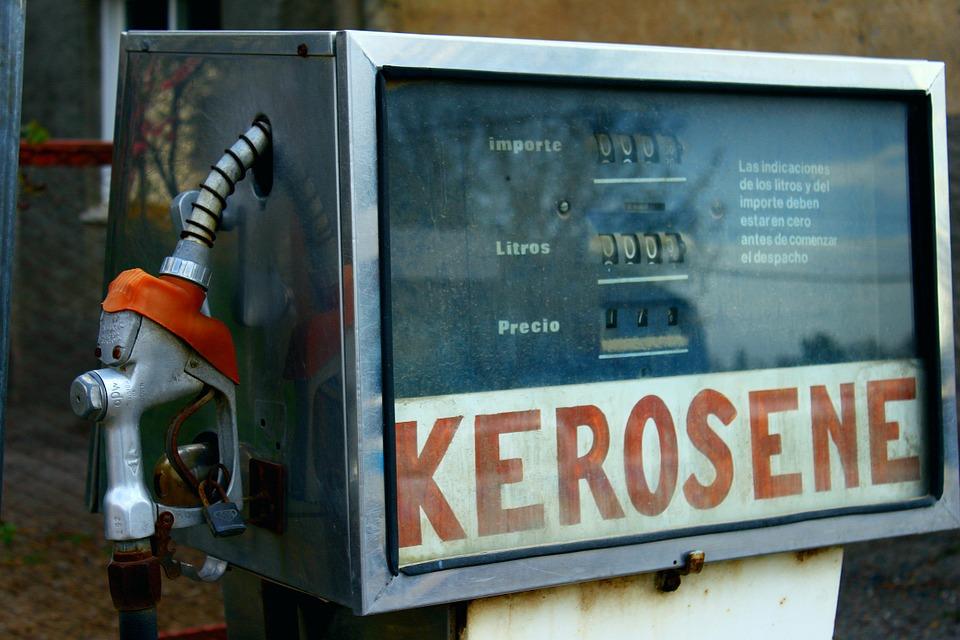 Old Kerosene Heating Oil Fuel Pump